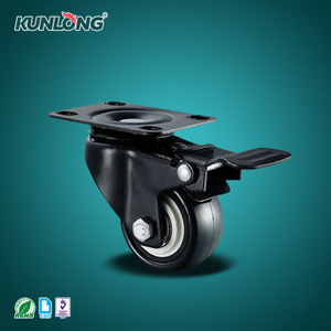 SK6-ZZ5073P KUNLONG Adjustable With brake Caster Wheel