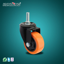 SK6-Z75108S KUNLONG Heavy Duty Swivel Caster Wheel