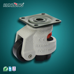 SK6-B75102P KUNLONG Adjustable Leveling Caster Wheel