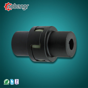 SG7-ML nobengr China Factory Jaw Flexible Coupling with Rubber Spider