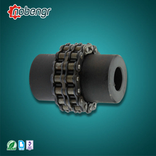 SG7-GL nobengr Steel Flexible Coupling Roller Chain Flexible Coupling